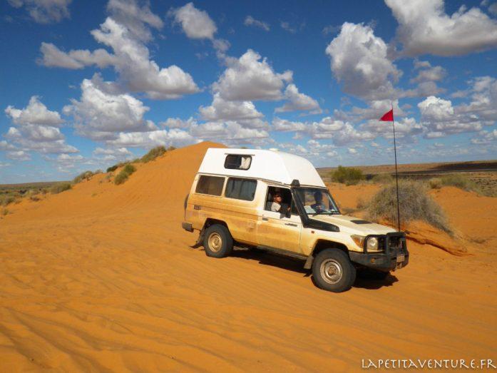 4x4 sur une dune