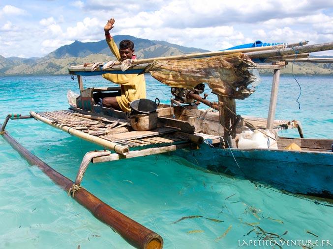 pêcheur indonésien