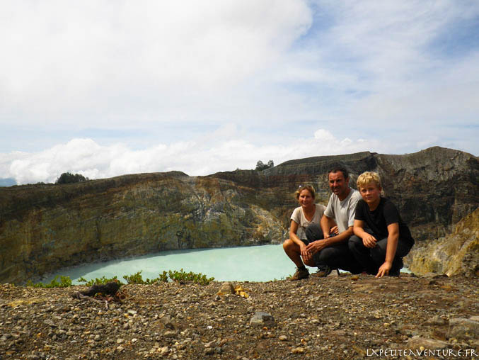 Volcan Kelimutu