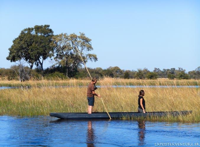 mokoro au botswana