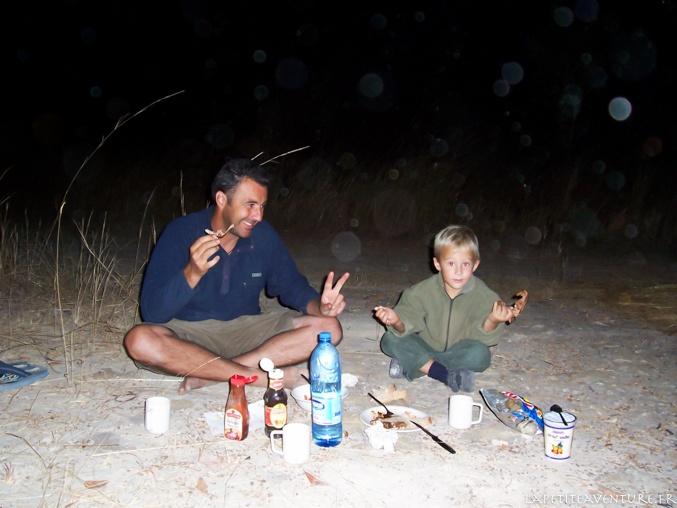 bivouac en zambie