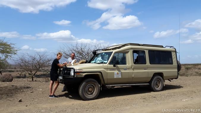 Safari au lac natron