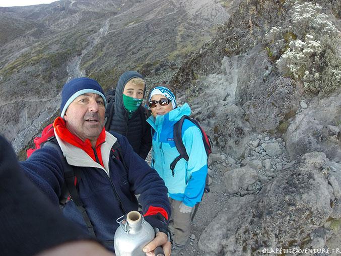 équipe pour le kilimandjaro