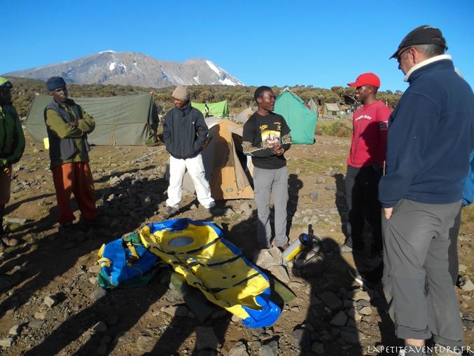 équipe du kilimandjaro