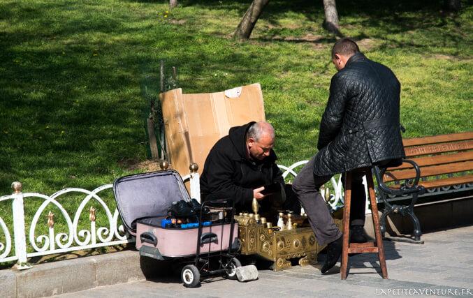 cordonnier à istanbul