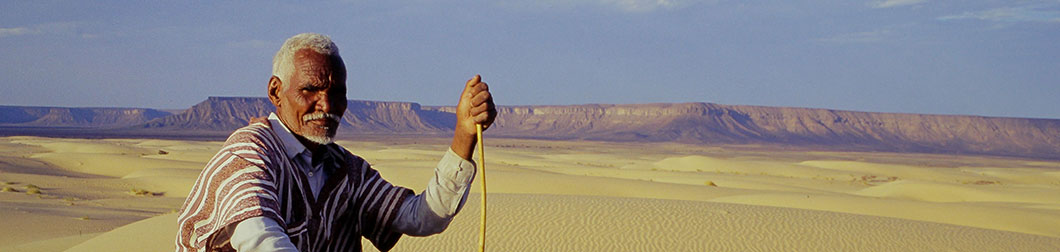 Mohamed Lemine en Mauritanie