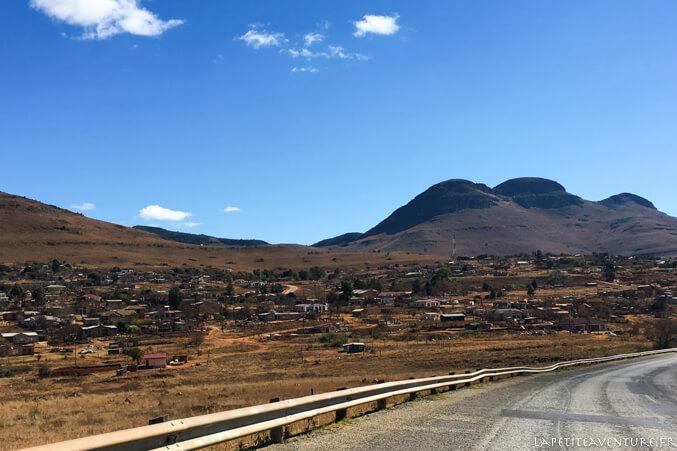 Paysage en Afrique du Sud