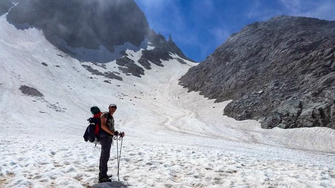 Glacier de Freydane, massif de Belledonne