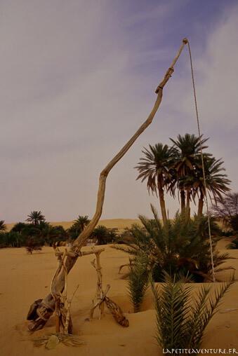 Puits du désert en Mauritanie