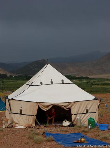 Orage en rando au Maroc