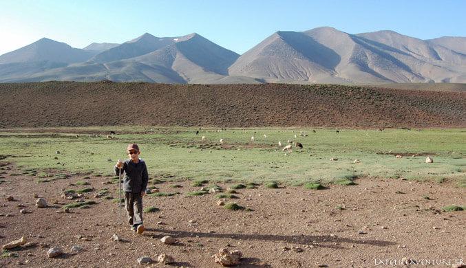 Plateau de Tarkedit au Maroc