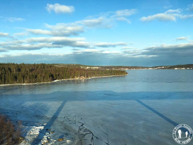Le golfe de Botnie en Laponie suédoise