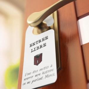 Pancartes de porte
