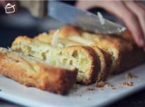 pain salé savoureux avec poires fromage gouda