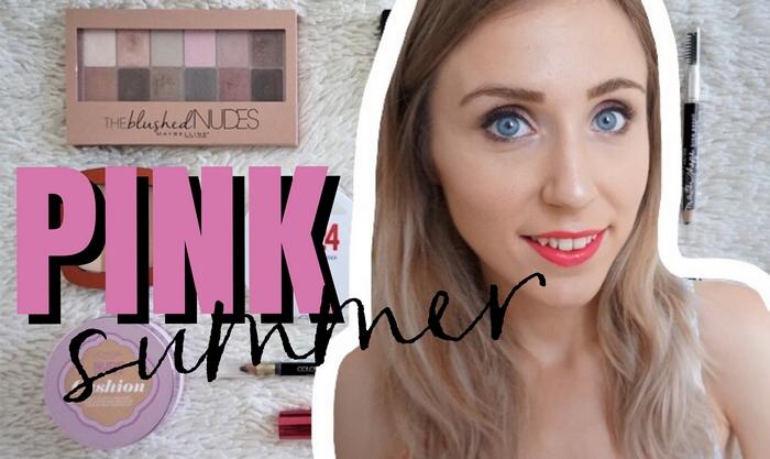 Tutoriel maquillage Pink Summer Make Up - La Petite Frenchie