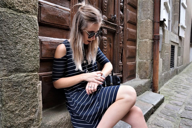 Look robe marinière - La Petite Frenchie