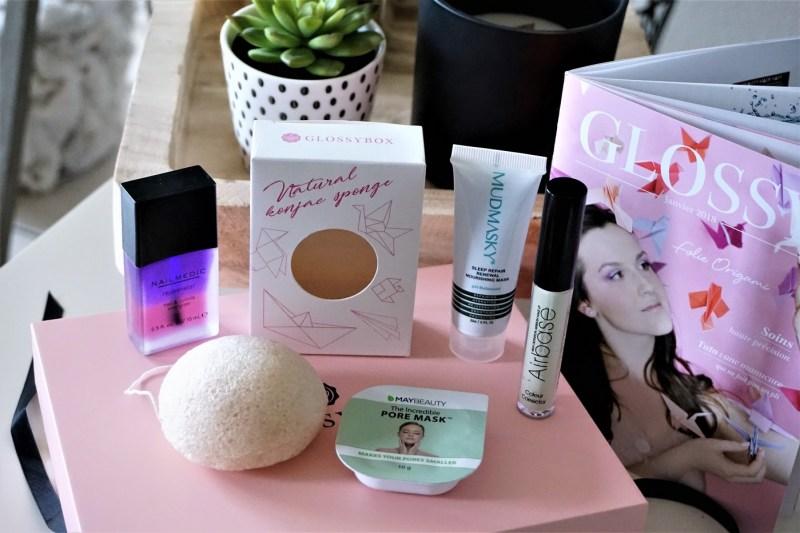 Glossybox Janvier 2018 - La Petite Frenchie