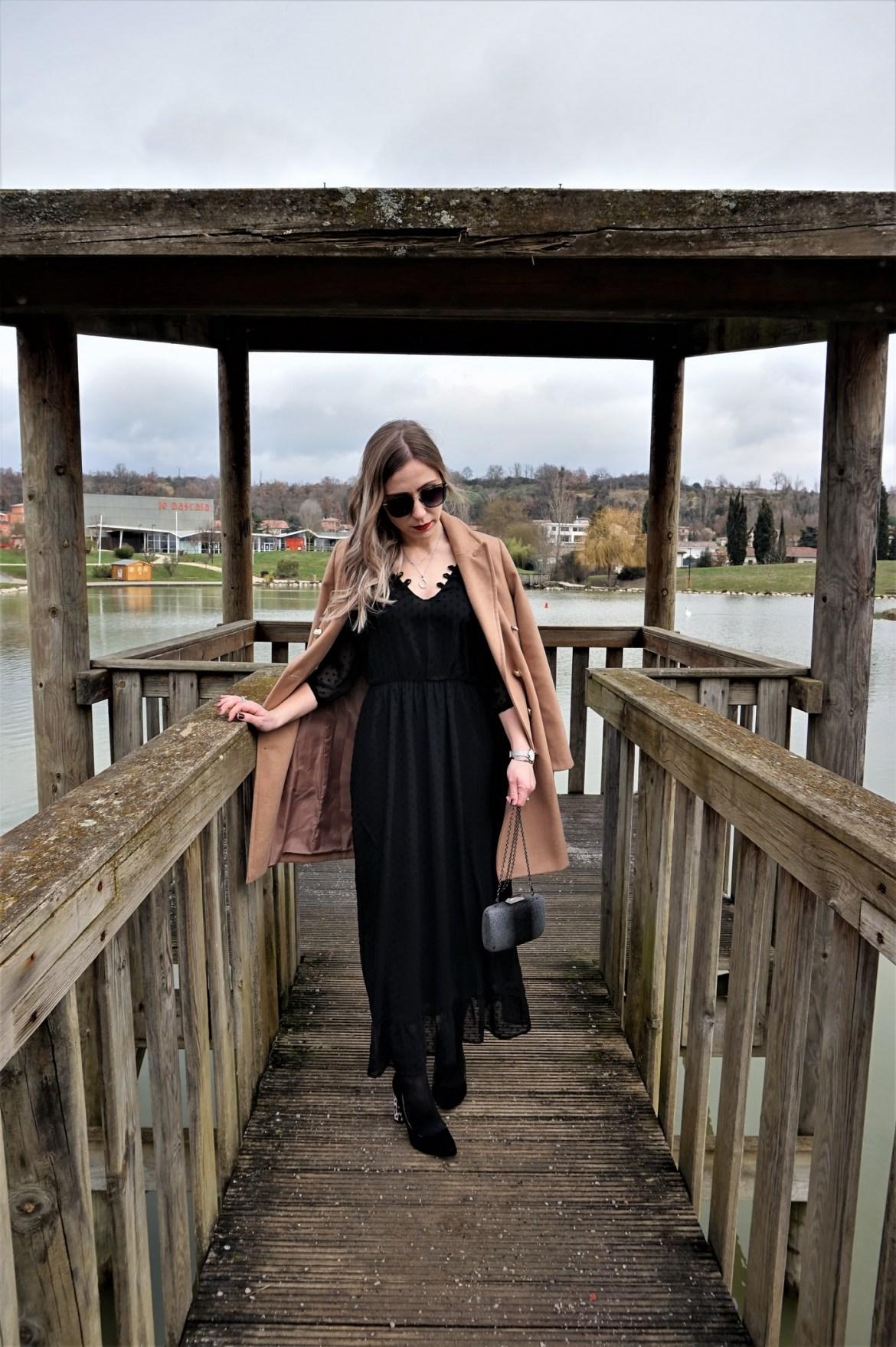 Look Saint-Valentin en robe longue - La Petite Frenchie