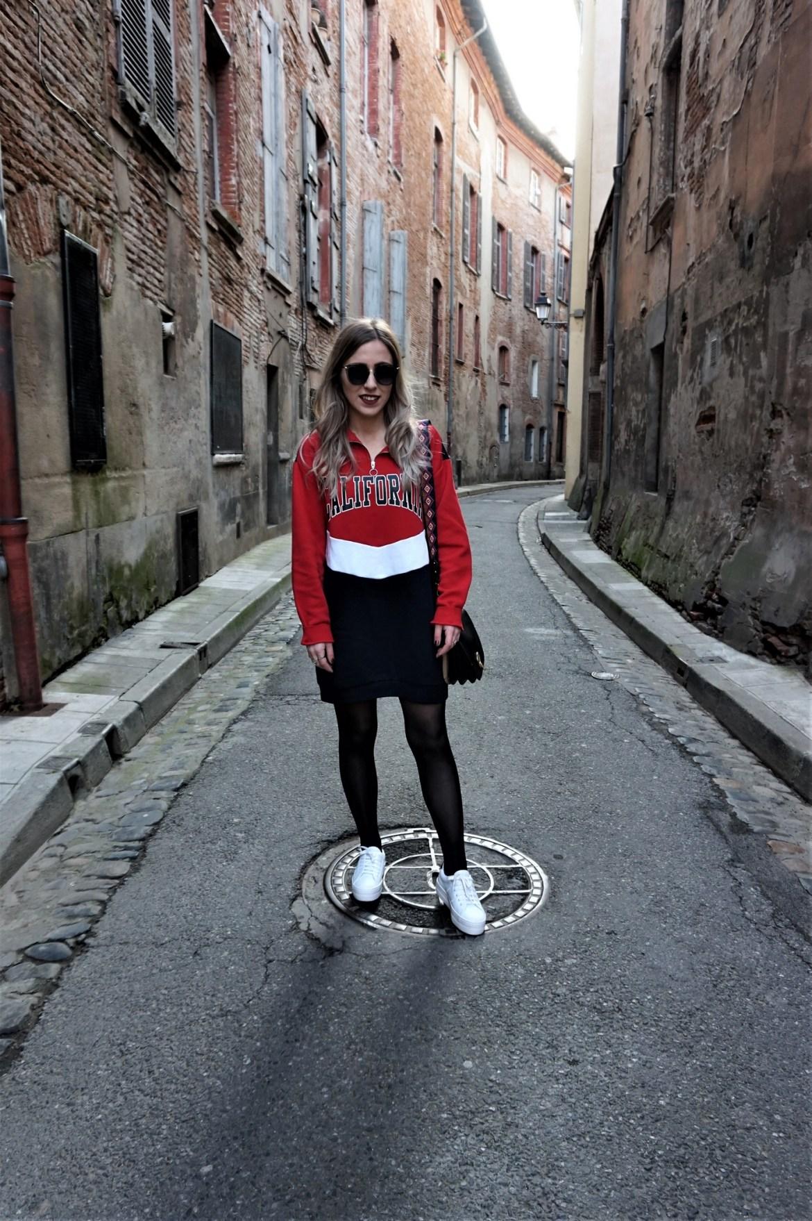 Look sportwear robe sweat - La Petite Frenchie