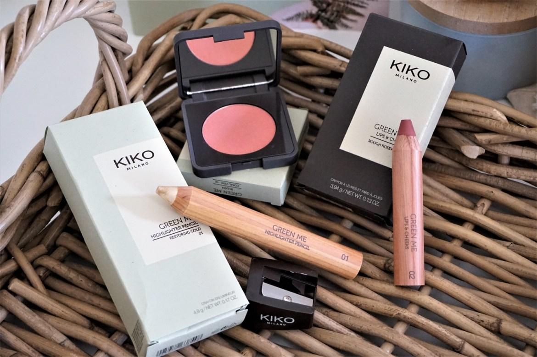 Avis collection maquillage & soins Green Me Kiko - La Petite Frenchie
