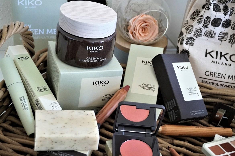 Avis collection maquillage Green Me Kiko - La Petite Frenchie