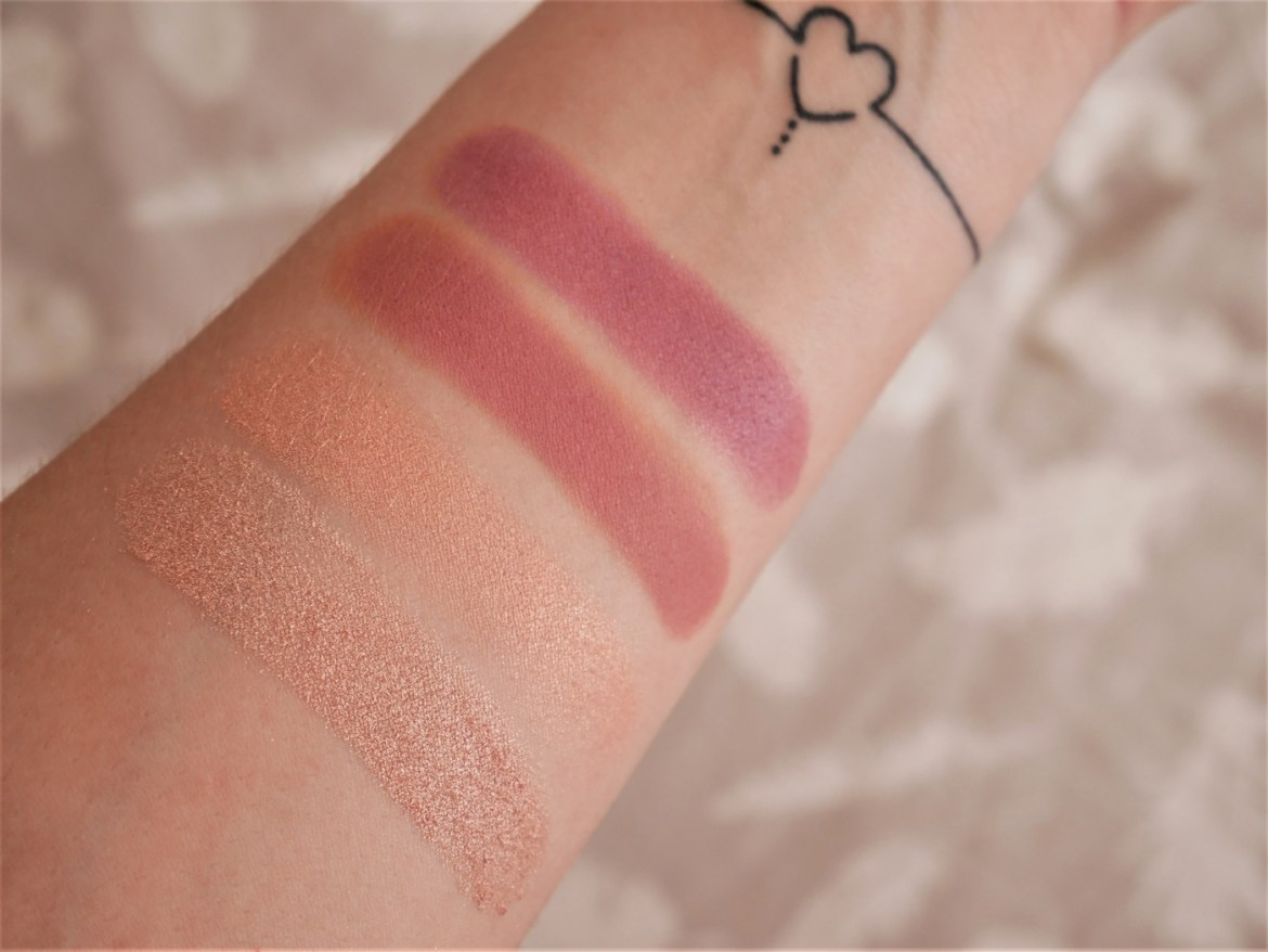 Swatchs palette Backtalk Urban Decay - La Petite Frenchie