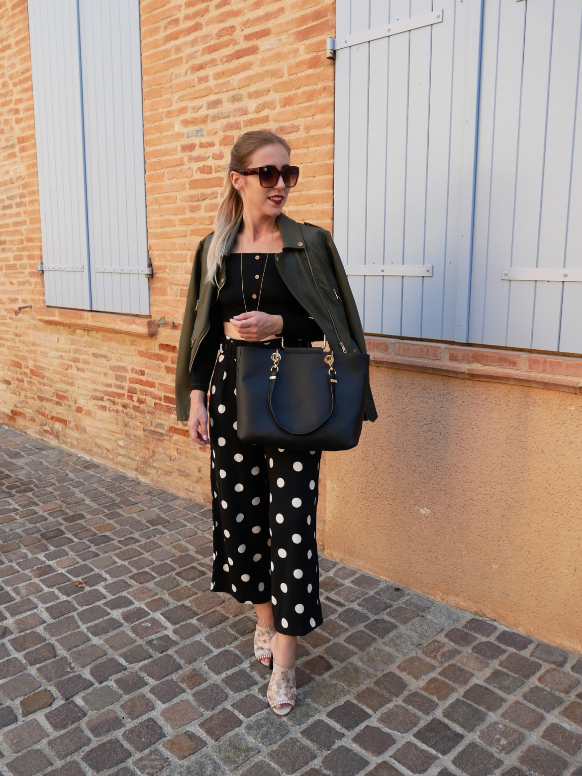 Look pantalon fluide 7/8 - La Petite Frenchie