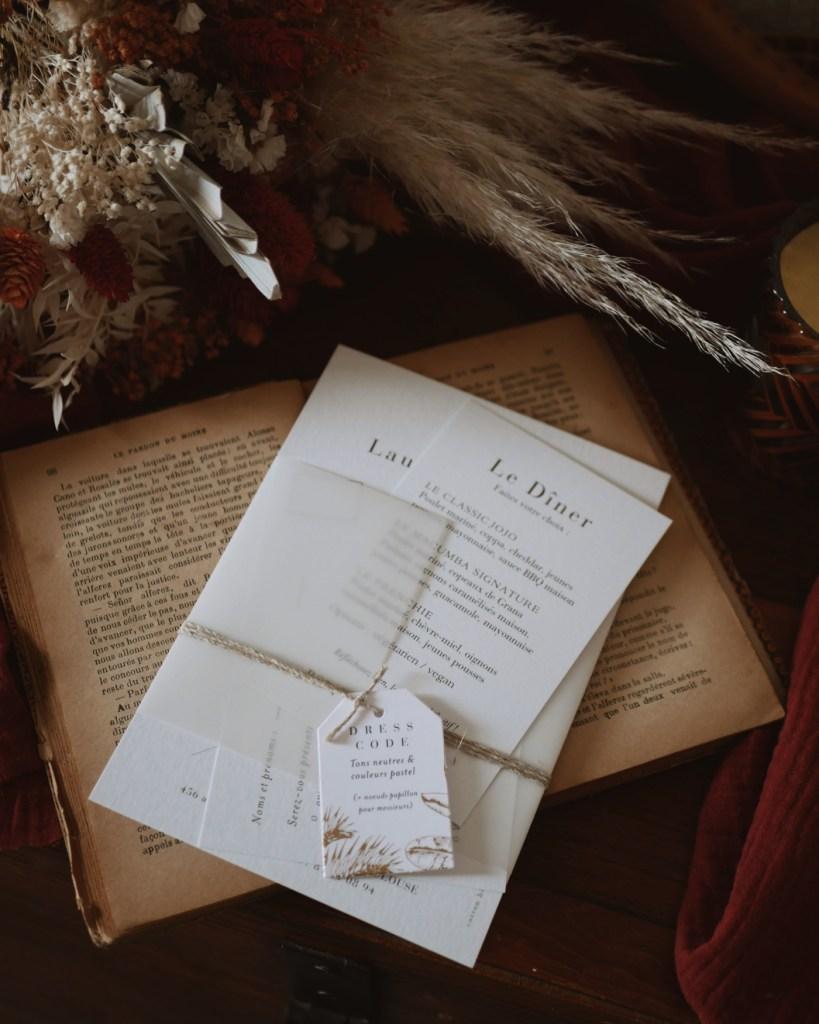 Nos faire-part de mariage Cotton Bird - La Petite Frenchie