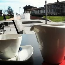 Hot chocolate from artisanal chocolatier Michel Belin