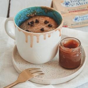 Recette super rapide : mug cake à la crème de marron & pépites de chocolat - La petite liste de Manon