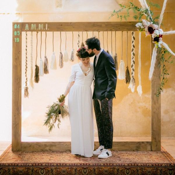 couple cérémonie laÏque mariage ferme du prieuré