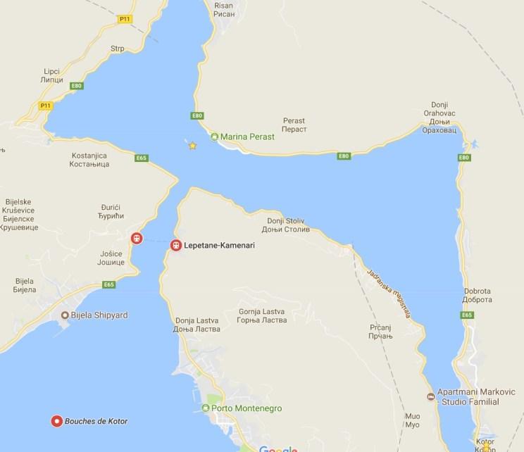 map kotor