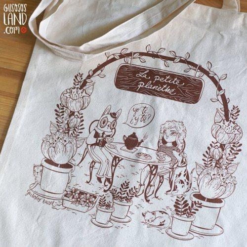 Tote Bag Edición Limitada 2017. Ilustración de Gusosos'Land.