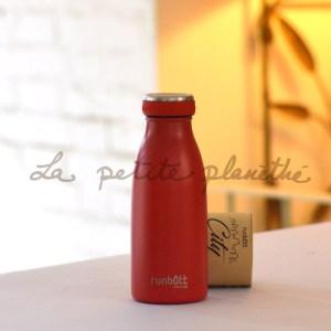 Botella Runbott City 350ml Rojo