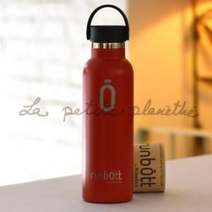 Botella Runbott Sport 600ml Rojo