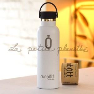 Botella Runbott Sport 600ml blanco