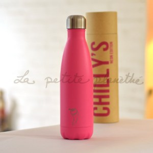Chilly's Bottle Pink Neon Edition 500ml