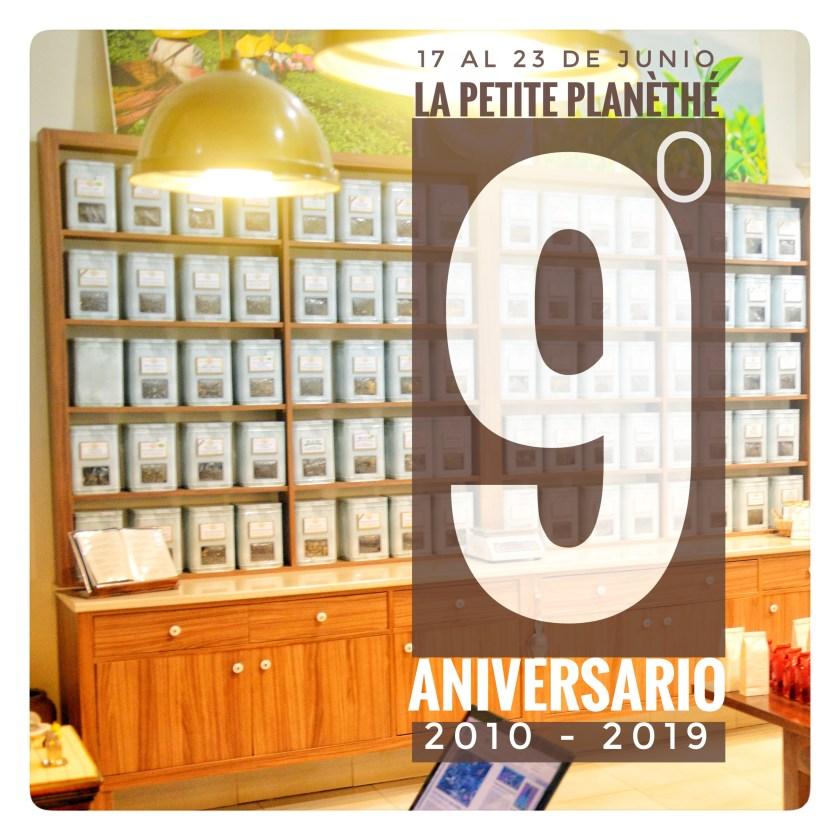 9º Aniversario de La Petite Planèthé