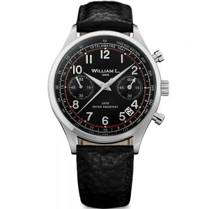william-l-1985-vintage-chronograph-stainless-steel-black-leather-wlac01nrbn