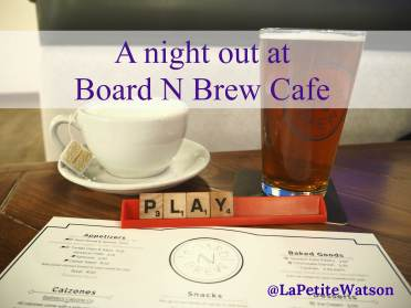 Board N Brew Cafe in Edmonton has a great selection of local beer and food with over 700 games to play.