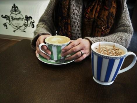 Edmonton hot drinks Reinette Café & Patisserie