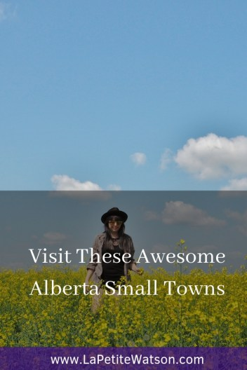 Visit these awesome Alberta small towns with La Petite Watson