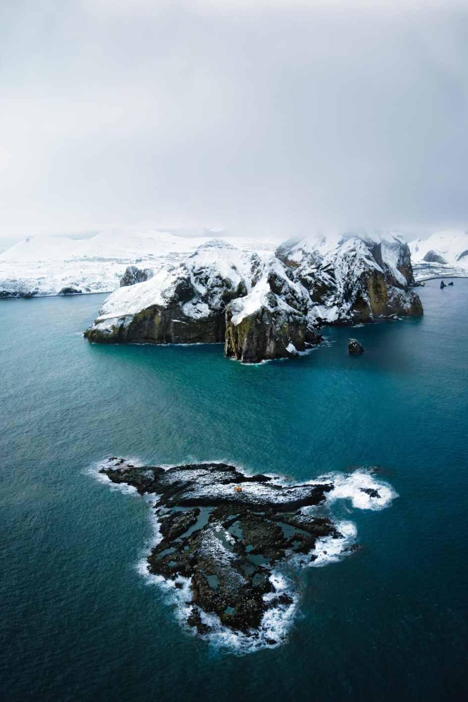 Paysage d'Islande, version après retouche - 4 techniques pour corriger les défauts sur Lightroom et Photoshop