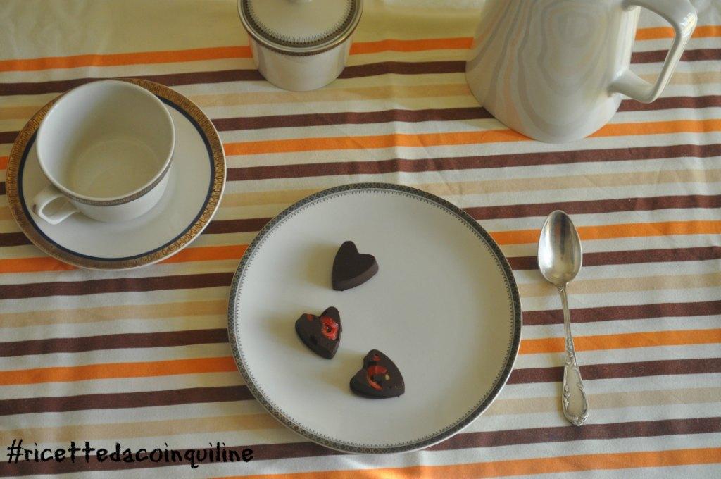 Cioccolatini al sale & peperoncino
