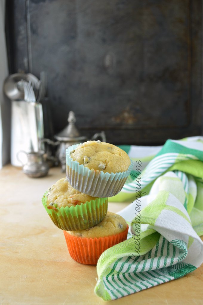 Muffin salati con farina ai 7 cereali