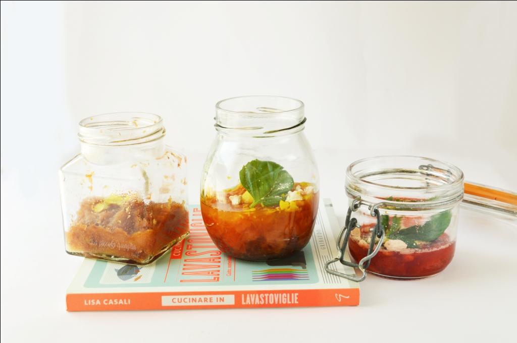 Cucinare in lavastoviglie: barattoli di frutta
