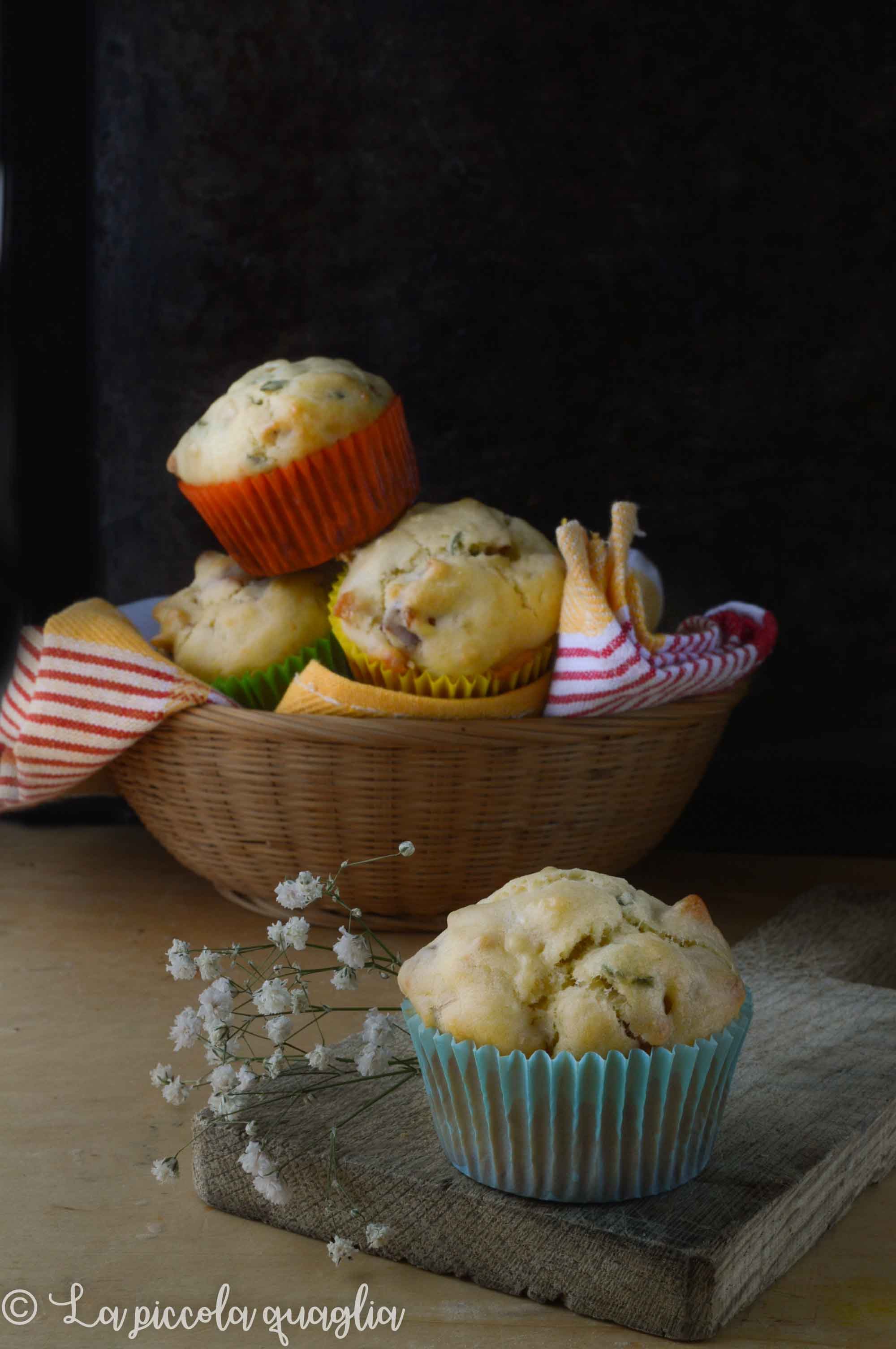 Muffin pancetta e salvia