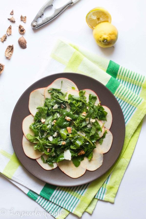 I sani venerdì: insalata di rucola e mele