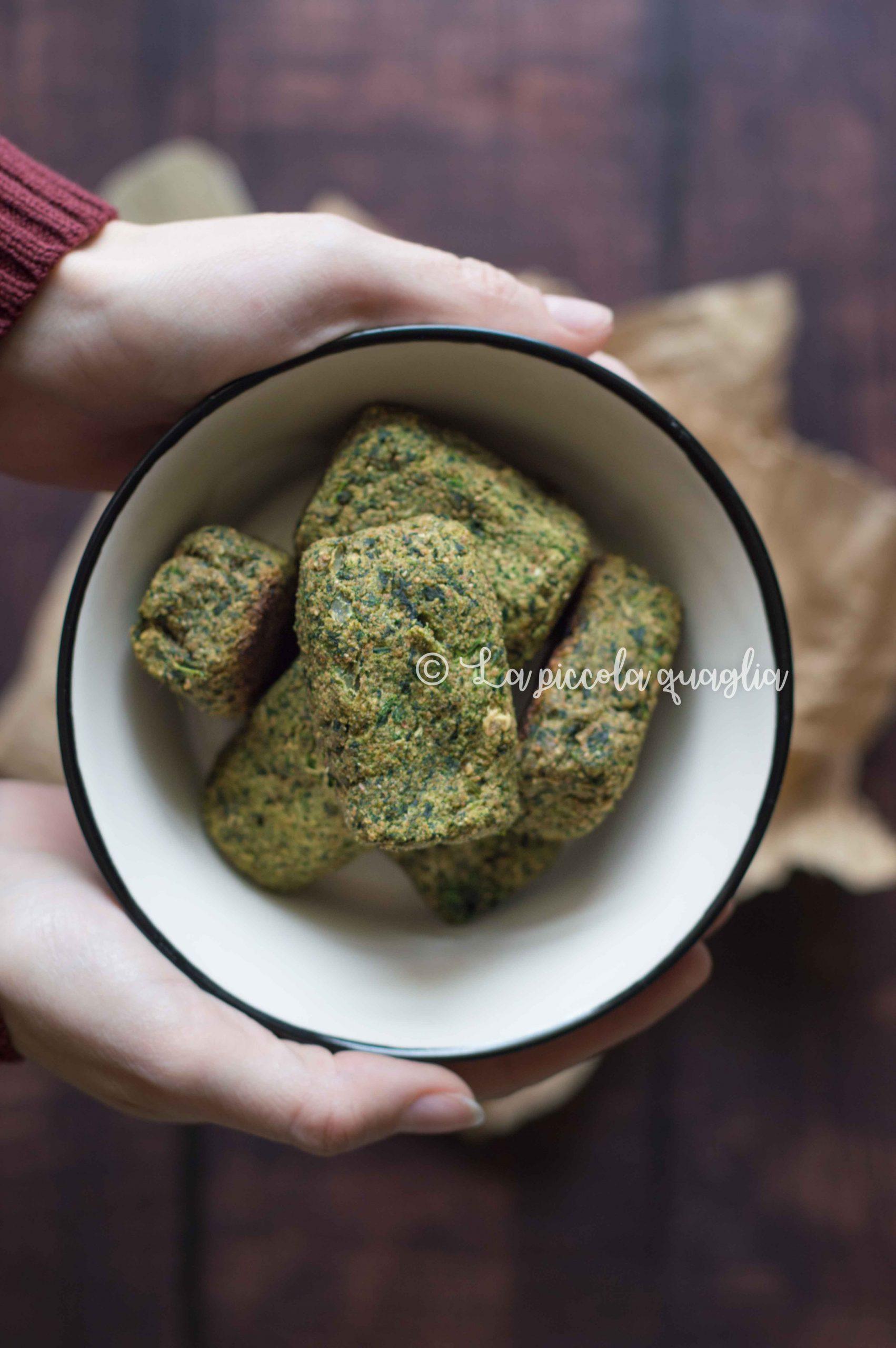 Crocchette di spinaci – i menù fuori casa