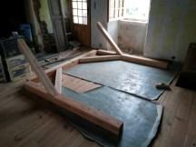 Auvent escalier 2
